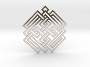 Celtic Knot / Nudo Celta in Platinum