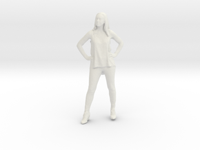 Printle C Femme 141 - 1/32 - wob in White Strong & Flexible