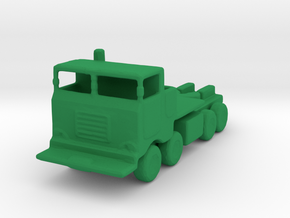 11/200 Scale M757 Tractor in Green Strong & Flexible Polished