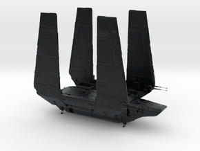 1/2256 Zeta-class Imperial Cargo Shuttle in Black Hi-Def Acrylate