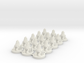 Game of Thrones Risk Pieces - Greyjoy in White Natural Versatile Plastic