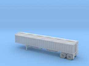 N-Scale (1/160) CPS/Manac 40' Grain Trailer W/Tarp in Smooth Fine Detail Plastic