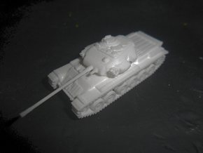 MG144-UK04A Centurion Mk 3 MBT (no skirts) in White Natural Versatile Plastic