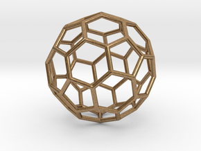 0624 Fullerene c60-ih - Model for the BFI (Bulk) in Natural Brass