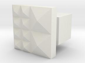 LUX1 in White Natural Versatile Plastic