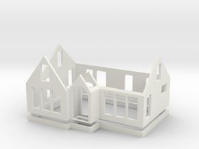 House 3R in White Natural Versatile Plastic