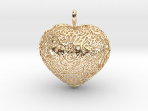 I.S. Pendant in 14K Yellow Gold