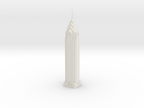 One Liberty Place (1:2000) in White Natural Versatile Plastic