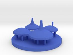 Game Piece, Ocean City in Blue Processed Versatile Plastic