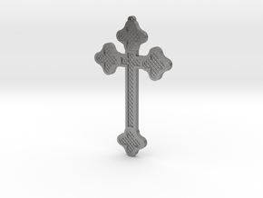 1:6 scale replica cross; Bram Stoker's Dracula in Natural Silver