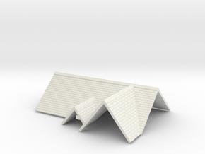 Roof AssemblyL in White Natural Versatile Plastic