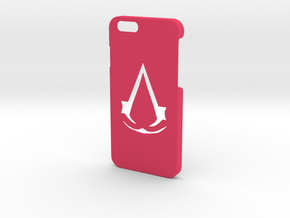 Assassins Creed Phone Case in Pink Processed Versatile Plastic