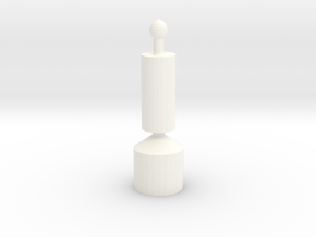 I Band Transponder in White Processed Versatile Plastic