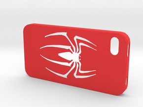 IPhone 4S Spider Case in Red Processed Versatile Plastic
