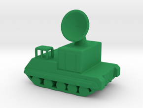 1/200 Scale M474 Radar in Green Strong & Flexible Polished