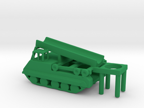 1/200 Scale M474 Pershing Launcher in Green Processed Versatile Plastic