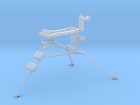 1:18 Lafette Tripod for MG34 or MG42 in Smooth Fine Detail Plastic