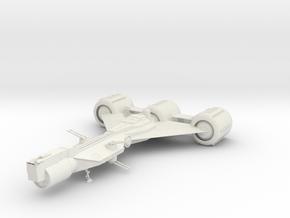 1/350 Star Wars Republic Frigate in White Natural Versatile Plastic