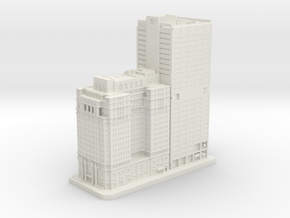 The Phoenix and 1650 Arch Street (1:2000) in White Natural Versatile Plastic