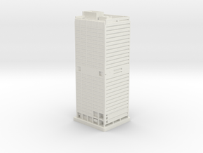 1650 Arch Street (1:2000) in White Natural Versatile Plastic
