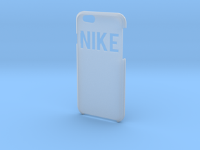 """""""Nike"""" Logo in Smooth Fine Detail Plastic"""