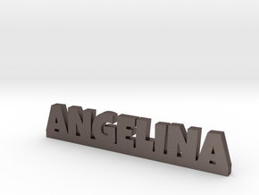 ANGELINA Lucky in Polished Bronzed Silver Steel