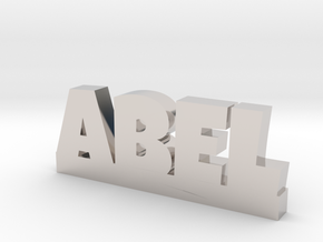 ABEL Lucky in Rhodium Plated Brass