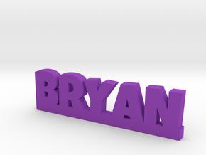 BRYAN Lucky in Purple Processed Versatile Plastic