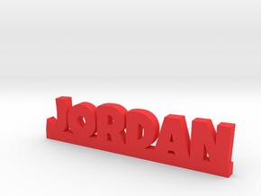 JORDAN Lucky in Red Processed Versatile Plastic