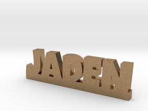 JADEN Lucky in Natural Brass