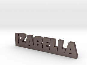 IZABELLA Lucky in Polished Bronzed Silver Steel
