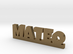 MATEO Lucky in Natural Bronze