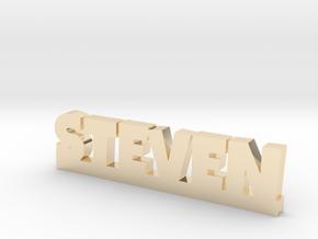 STEVEN Lucky in 14k Gold Plated Brass