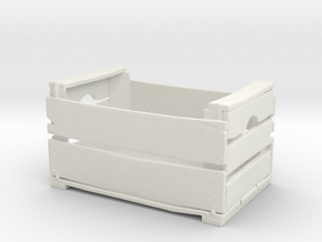 Printle Thing Wood Crate - 1/24 in White Natural Versatile Plastic