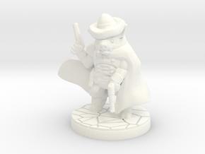 Sand, Pigman Gunslinger (15mm/1:100 scale) in White Processed Versatile Plastic