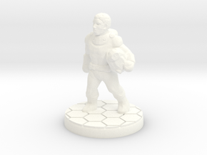 Elias Cobb, Explorer (15mm/1:100 scale) in White Processed Versatile Plastic