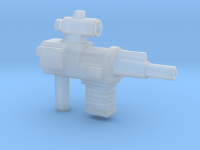 Constructo Blaster (5mm Peg) in Smooth Fine Detail Plastic