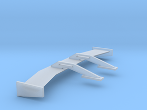 1/24 1/25 Lowpro Swan Neck Wing in Smooth Fine Detail Plastic