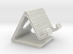 Mesh1 in White Natural Versatile Plastic