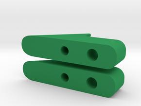 Rear Slider in Green Processed Versatile Plastic