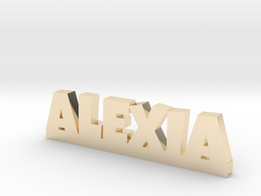 ALEXIA Lucky in 14k Gold Plated Brass