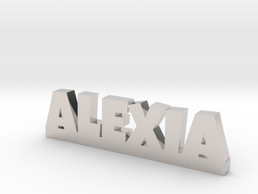 ALEXIA Lucky in Rhodium Plated Brass