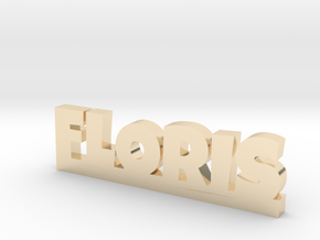 FLORIS Lucky in 14k Gold Plated Brass