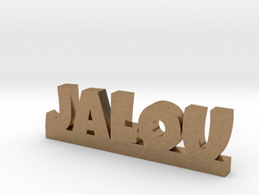 JALOU Lucky in Natural Brass