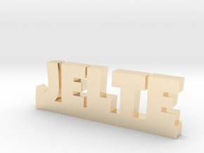 JELTE Lucky in 14k Gold Plated Brass
