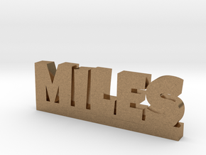 MILES Lucky in Natural Brass
