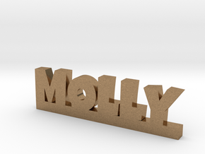 MOLLY Lucky in Natural Brass