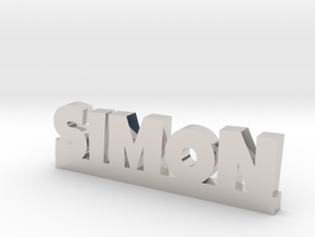SIMON Lucky in Rhodium Plated Brass