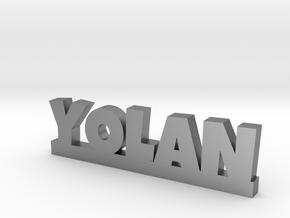 YOLAN Lucky in Natural Silver