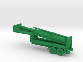 1/200 Scale Pershing Missile Tailer in Green Processed Versatile Plastic